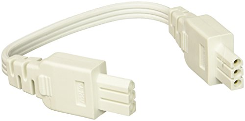 Juno JC3 8IN WH Undercabined Jumper Wire, White