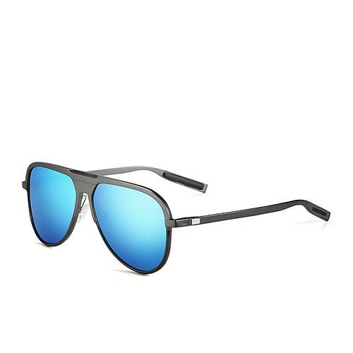 C04 Soleil de Hommes L'armature Lunettes Eyewear des Pêche TL Guide pour pour en Aviator Gun Blue de Polarisé Lunettes Voyage Aluminium Sunglasses PFvxH4