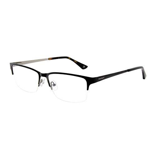 Hackett London 1212/Mens Extended size/Rectangular Semi-rimless/Stainless Steel Eyeglasses/frames