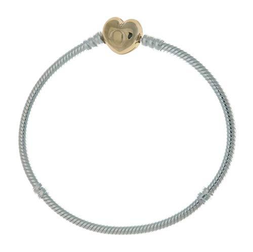 Pandora Shine Heart Silver 7.1 inches Bracelet 560719-18 by Pandora (Image #2)