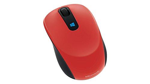 Microsoft Sculpt Mobile Mouse, Flame Red V2 (43U-00024)