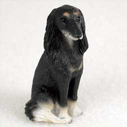 (Saluki Miniature Dog Figurine)