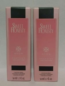(Avon Sweet Honesty Classics Collection Cologne Spray lot of 2)
