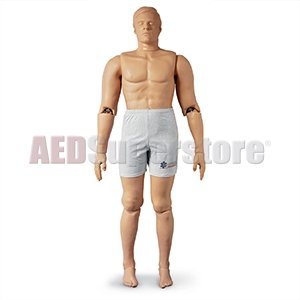 Rescue Randy Manikin - Simulaids Rescue Randy IAFF Manikin (Weighted) w/Reinforcements 165 lbs - 1475