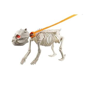 halloween decoration yard lawn garden animated skeleton dog 185