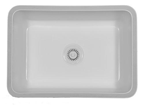 Karran Undermount Acrylic Sinks : Nova - White