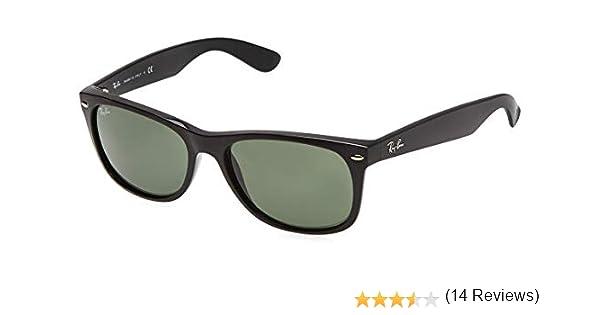Ray Ban MOD. 2132, Gafas de Sol Unisex, Negro (Black Frame/Green), 52 mm