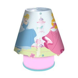 Disney princess lamp and light shade set amazon lighting disney princess lamp and light shade set mozeypictures Images