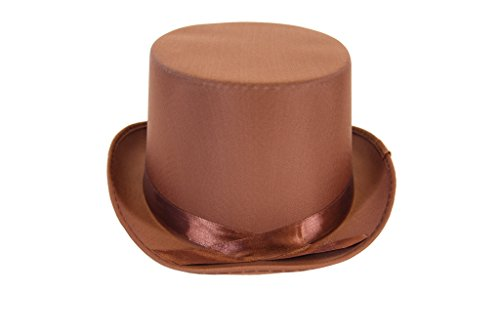 Dress Up Party Costume TOP Hat (Brown)
