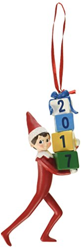 Elf on The Shelf Dated Hanging Ornament