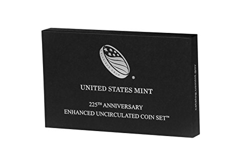 2017 S Us Mint 225Th Anniversary Coin Set  17Xc  Enhanced Uncirculated Ogp