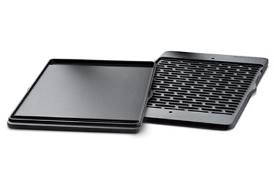 Weber Genesis 300 Series Two Sided Gas Grill Cast Iron Coated Griddle 7532 ()