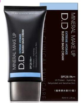 DR. WU Extreme Hydrate Blemish Balm Cream 40ml - a Multifunctional DD Cream moistens Dry Skin, which possesses Hydrating Properties and Soothing to Healthy Skin.