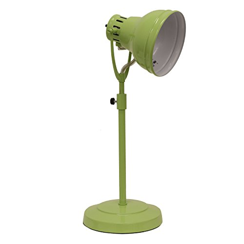 Décor Therapy TL13954 Desk Task Table Lamp with Adjustable Shade, Green by Décor Therapy