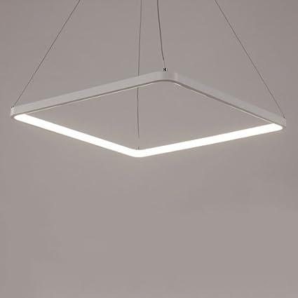 Modeen Lámpara de Techo Cuadrada Moderna con luz Ajustable ...