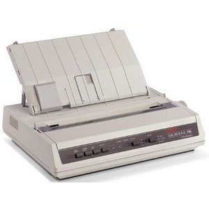 Find Bargain Oki MICROLINE 186 Dot Matrix Printer (91306301)