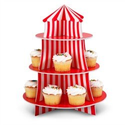 Big Top Cupcake Holder (Party Supplies)