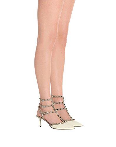 lanières Stud White Nude Escarpins de Pointu Femmes Bout Cheville Patent Sandales Robe Strap de à Gold Caitlin Pompes Sangles cloutées Pan Chaussure waxHpR0