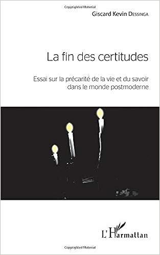 Fin des Certitudes (French Edition)