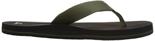 O'Neill Men's Bolsa Sandal Flip-Flop, Army, 10 Medium US by O'Neill (Image #6)