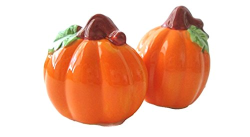 Autumn Pumpkins Decorative Salt & Pepper Shaker Set