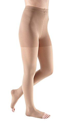 (mediven Comfort, 15-20 mmHg, Compression Pantyhose, Open Toe)