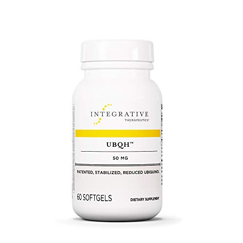 Integrative Therapeutics - UBQH 50 mg - Patented Stabilized Reduced Ubiquinol - Support Cellular Energy & Overall Health - 60 Softgels ()
