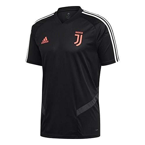 Juventus Football - adidas 2019-2020 Juventus Training Football Soccer T-Shirt Jersey (Black) - Kids