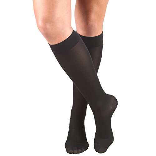 Truform Womens Closed Compression Stockings