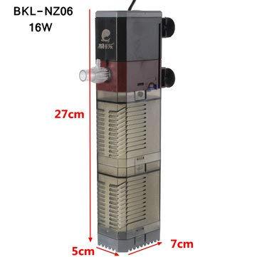 Amazon com: Aquarium Oxygen Pump Filter Submersible Pump
