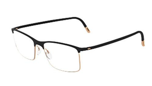 - Eyeglasses Silhouette Urban Fusion Full Rim 2904 6050 black 52/17/140 3 piece fr