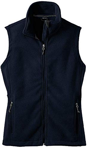 Womens Soft and Cozy Fleece Vests in 8 Colors: Sizes XS-4L