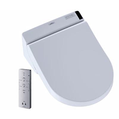 Toto Sw2047T20#01 Washlet C200 Connect + D-Shape Washlet C200 Connect+ D-Shape Bidet Toilet Seat With Premist, Cotton