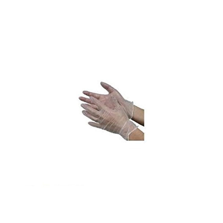 パイプ住居ビットJM11008 モデルローブビニール使いきり手袋【粉つき】M 100枚入 NO930
