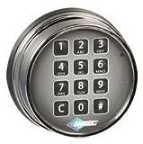Amsec 0615772 ESL10XL Standard Bolt Electronic Safe Lock (Chrome) by Amsec