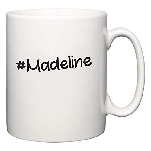 Lplpol Madeline Hashtag Cup Funny Novelty Slogan Mug 11oz