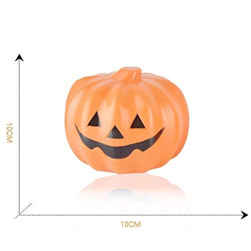 YESIDO Halloween Props Small Pumpkin Lights Children Desktop