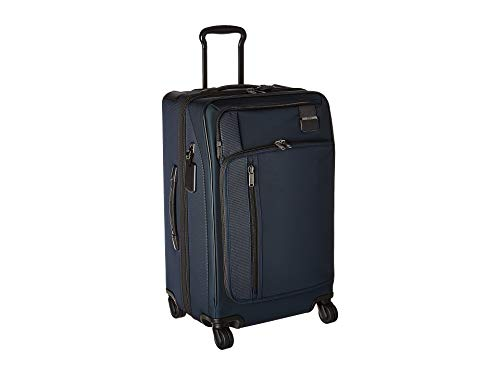 (TUMI - Merge Short Trip Expandable Packing Case Medium Suitcase - Rolling Luggage for Men and Women - Navy)