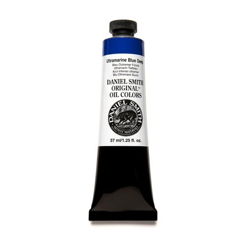 DANIEL SMITH 309050Daniel Smith Original Oil Color 37ml Paint Tube, Ultramarine Blue Deep (284300083)