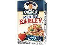 Quaker Medium Pearled Barley 16oz Box (Pack of 6)