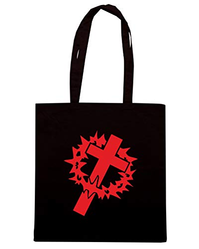 CROSS Shirt Speed Nera Shopper DIE CUT FUN1107 CROWN Borsa 82077 fYwYqdS