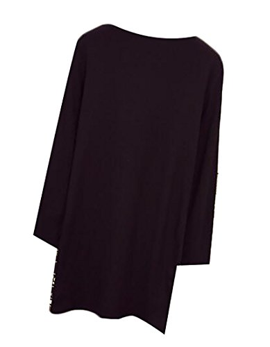 Jaycargogo Femmes Sexy Bandage Avant Moulante Zippée Mini Robe Soirée Noire