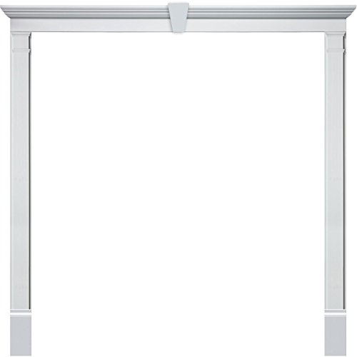 "Fypon DSKD08P9612K Double Door Surround Kit with 96""W x 1..."