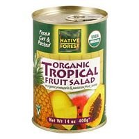 NATIVE FOREST SALAD FRUIT TROPICAL, 14 OZ by Native Forest (Image #1)