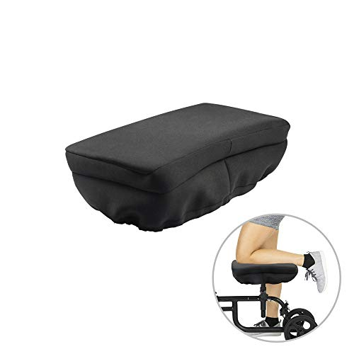Saftybay Knee Walker Pad Cover - Padded Memory Foam Accessory for Knee Scooter and Roller, Improves Leg Cart Comfort