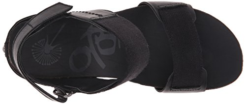 Black Wedge Trailblazer OTBT Sandal Women's 4OITF