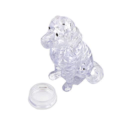 - 42 Thermolove 3D Decoration Model Toy Crystal Puzzle Game Toy Dog-Transparent