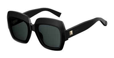 Max Mara MM Prism VI 807 Black MM Prism VI Square Sunglasses Lens Category 3 - Max Mara Mens