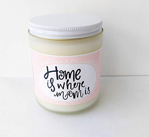 Amazon Gift For Mom Home Is Where Candle Gifts Mothers Day Mother Birthday Card Her
