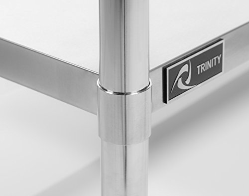 TRINITY EcoStorage NSF Stainless Steel Table, 48-Inch by Trinity (Image #8)